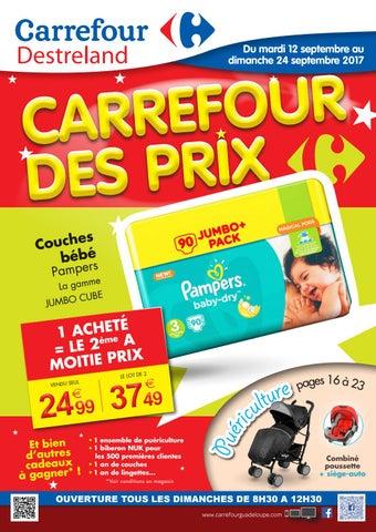 Carrefour Destreland Carrefour Des Prix Du 12au 24 Septembre