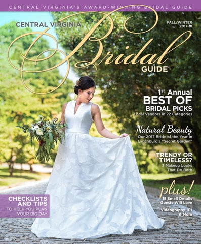 91a60ff84d04dc Central Virginia Bridal Guide Fall Winter 2017-2018 by VistaGraphics ...
