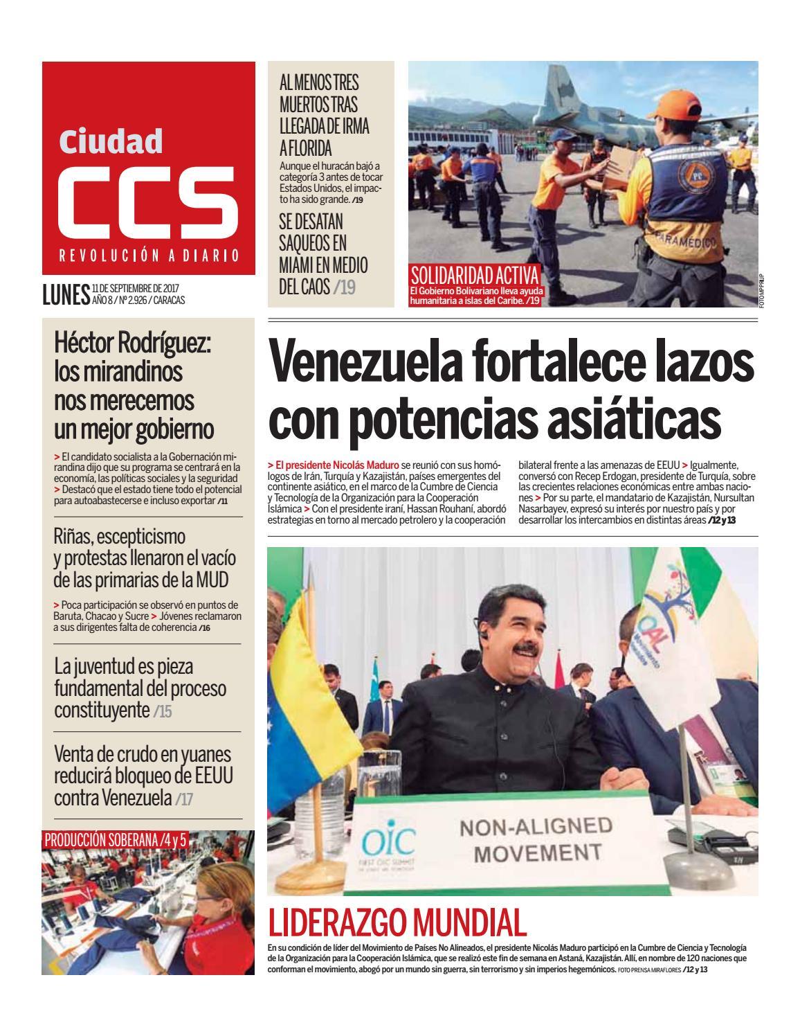 11 09 17 by Ciudad CCS - issuu 284984a3284df