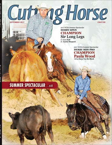 ffb8ca61014 NCHA Cutting Horse Chatter by Cowboy Publishing Group - issuu