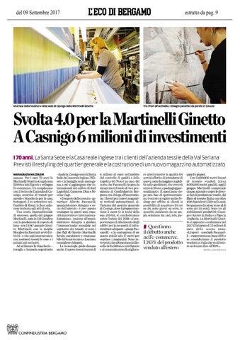 Martinelli Ginetto Spa Casnigo.Martinelli Ginetto Issuu