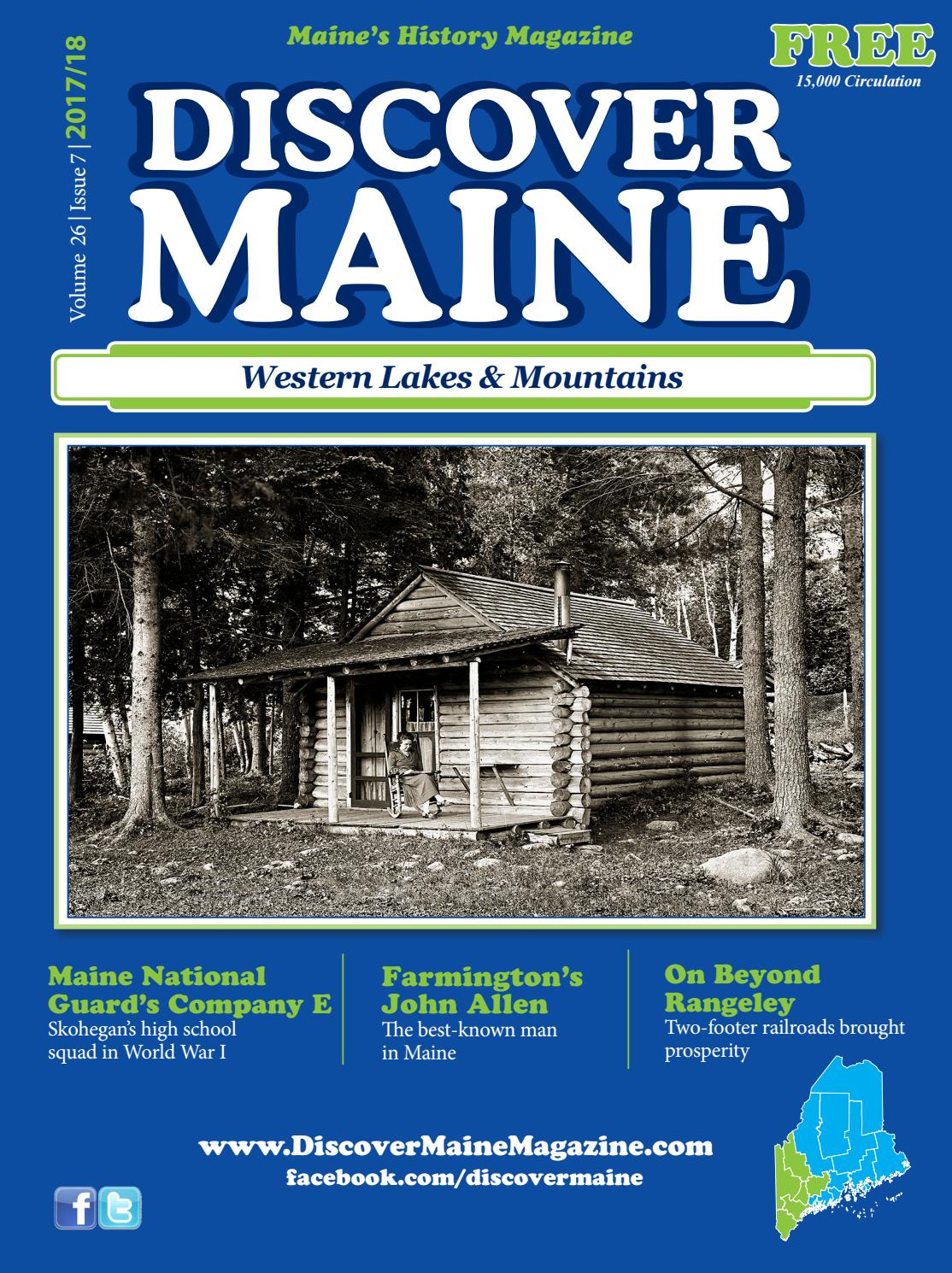 Western lakes mountains 2017 by discover maine magazine issuu 1betcityfo Gallery