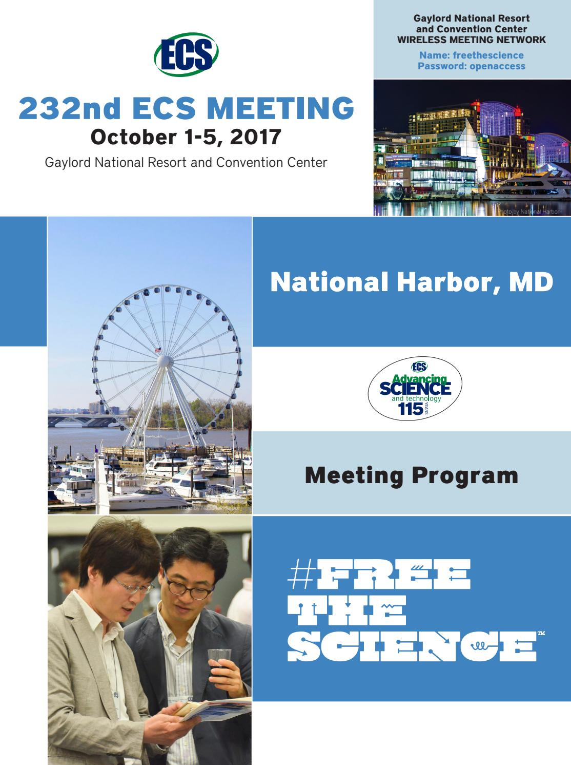 232nd ECS Meeting, National Harbor, MD by The