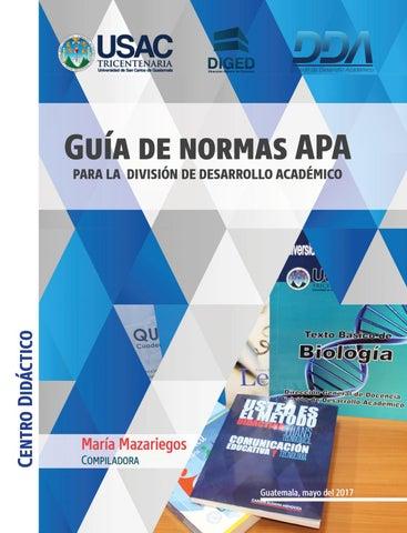 Guía De Normas Apa By Sonia Judith Villatoro Jácome Issuu