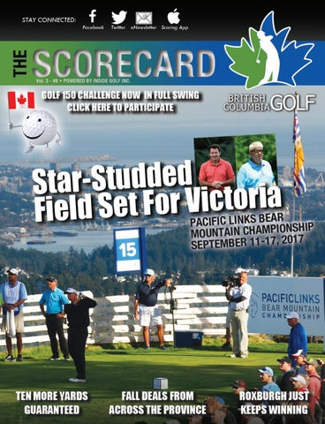5cdaf2166cba37 British Columbia Golf - The Scorecard Magazine Vol. 3 Issue 8 by ...