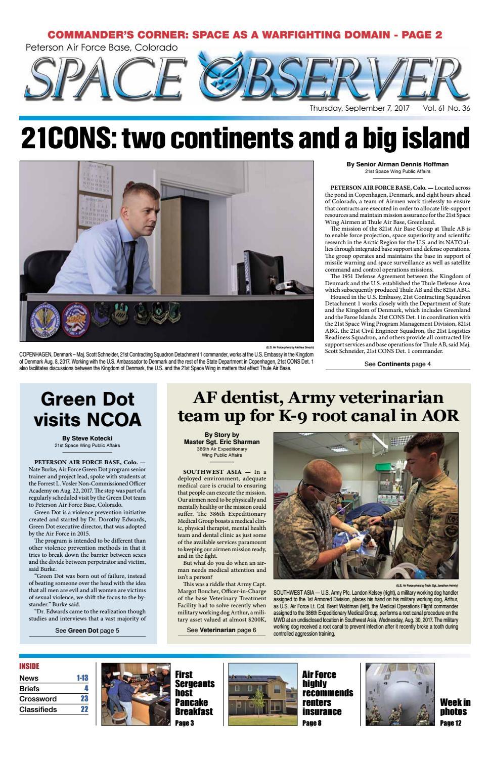So sept 7 digital by Colorado Springs Military Newspaper