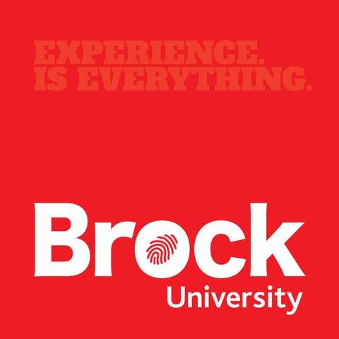 Brock Viewbook 2017 by Brock University - issuu