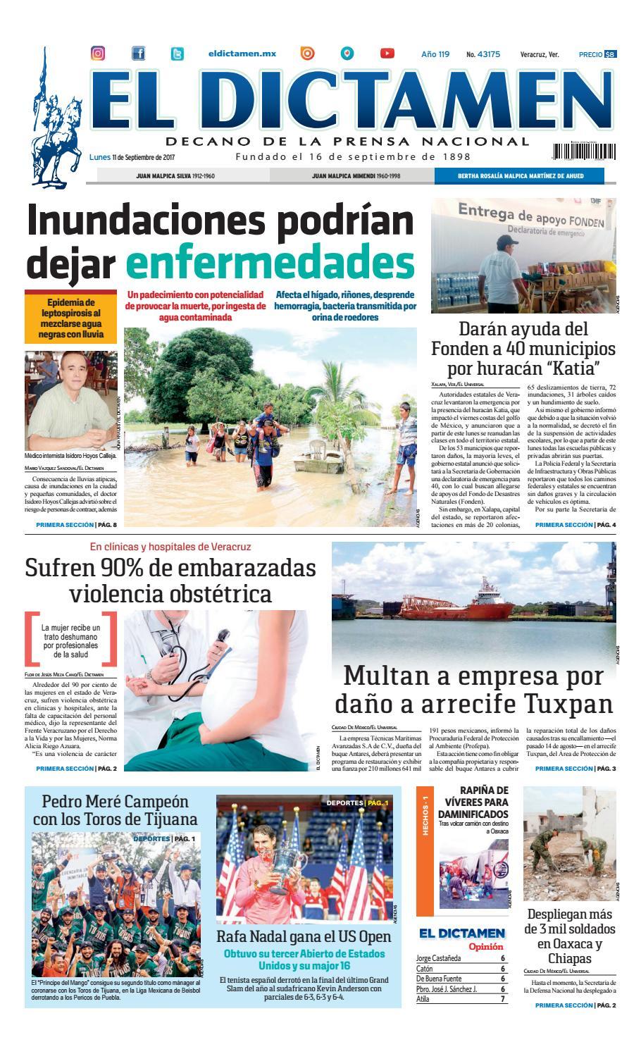 El dictamen 11 de septiembre 2017 by El Dictamen - issuu 6d9f148e04e09