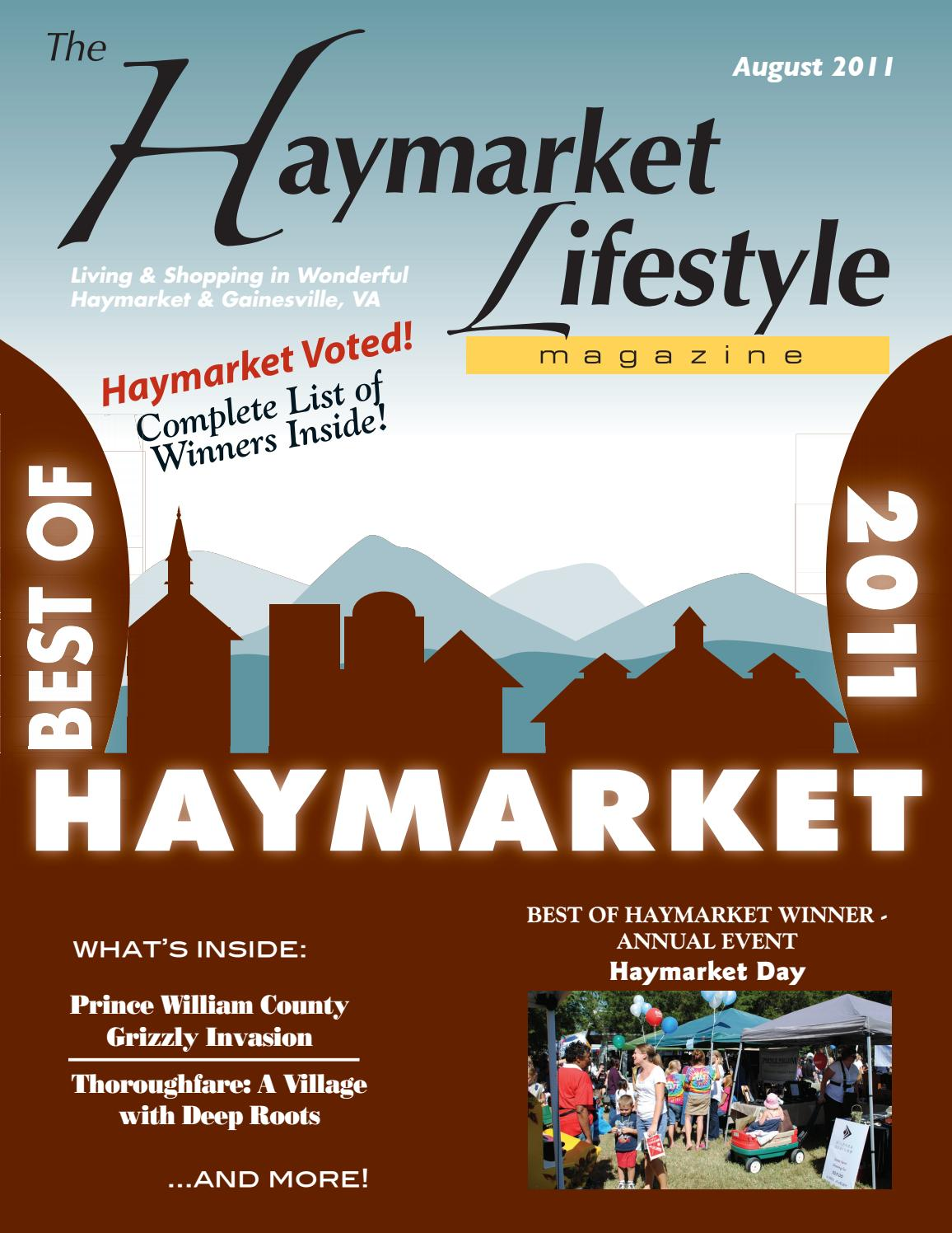 Haymarket Lifestyle Magazine August 2011 by Piedmont Publishing ...
