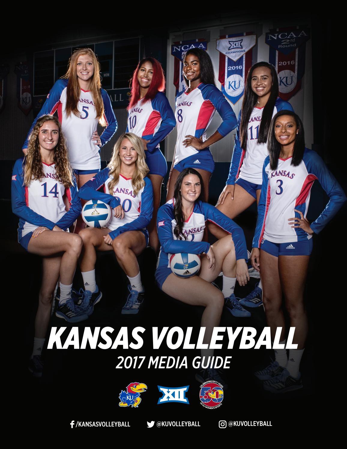 df4b3fe2a 2017 Kansas Volleyball Media Guide by Kansas Athletics - issuu