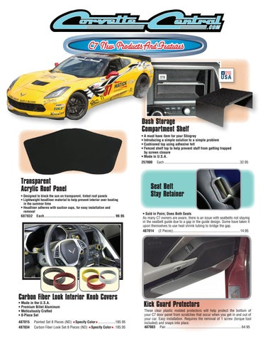Corvette Central C7 (2014+) Corvette Parts Catalog by