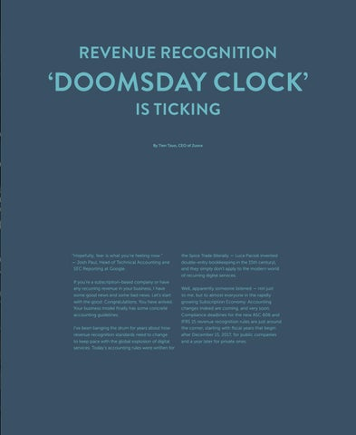 Page 21 of Revenue Recognition 'Doomsday Clock' Is Ticking