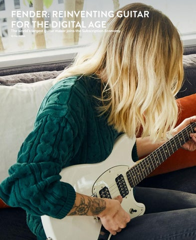 Page 8 of Fender: Reinventing Guitar for the Digital Age
