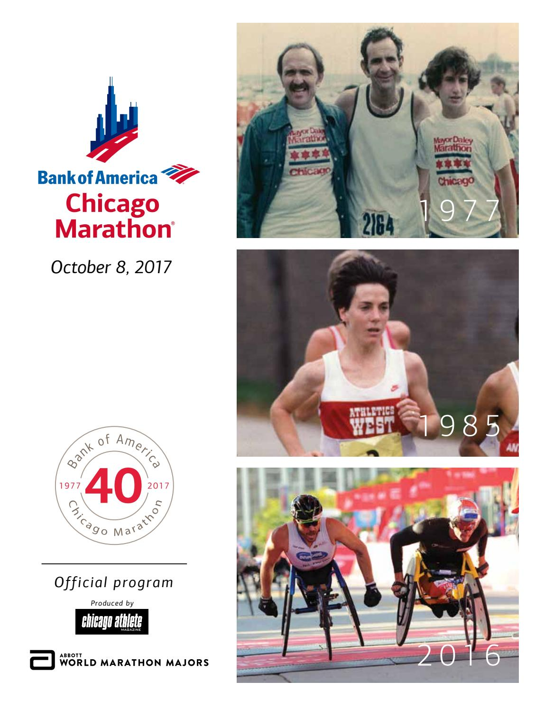 2017 Bank of America Chicago Marathon Program by Kelli L - issuu