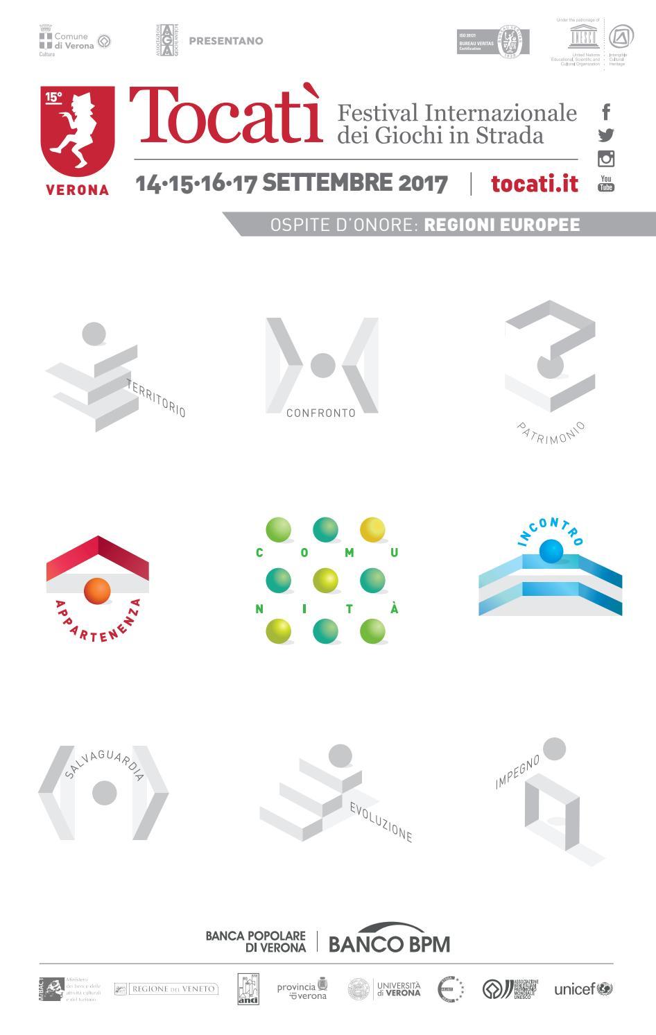 Programma Tocatì 2017 By Tocatì Festival Internazionale Dei Giochi