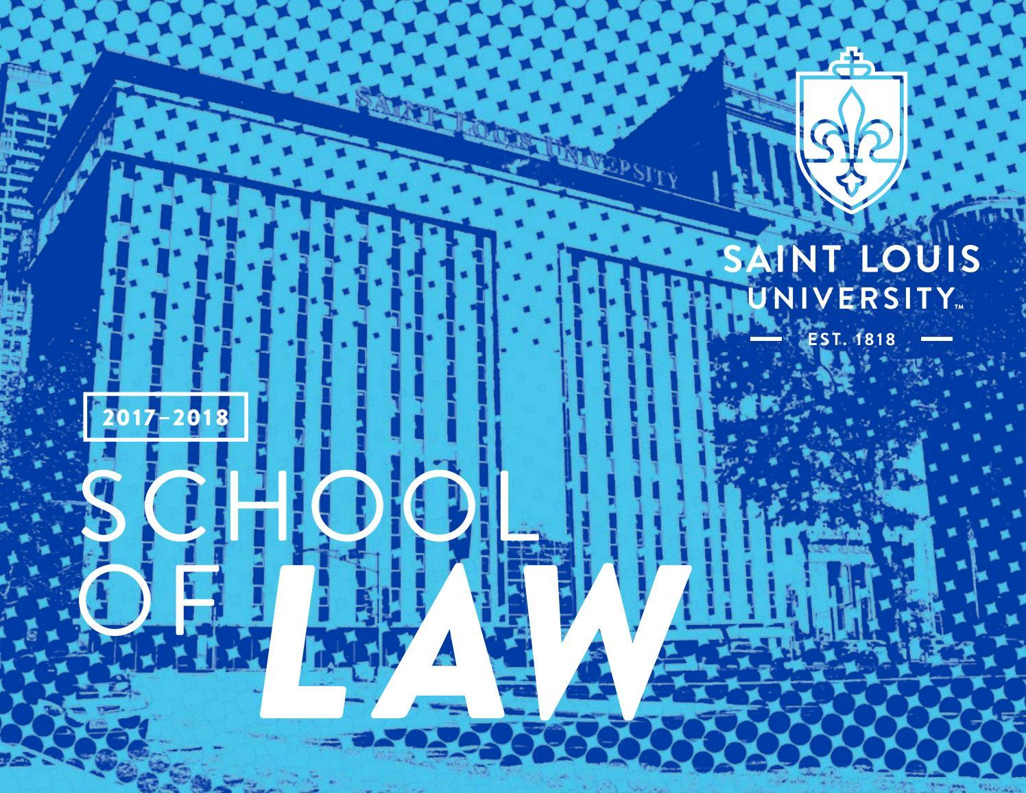 viewbook slu law by slu law - issuu