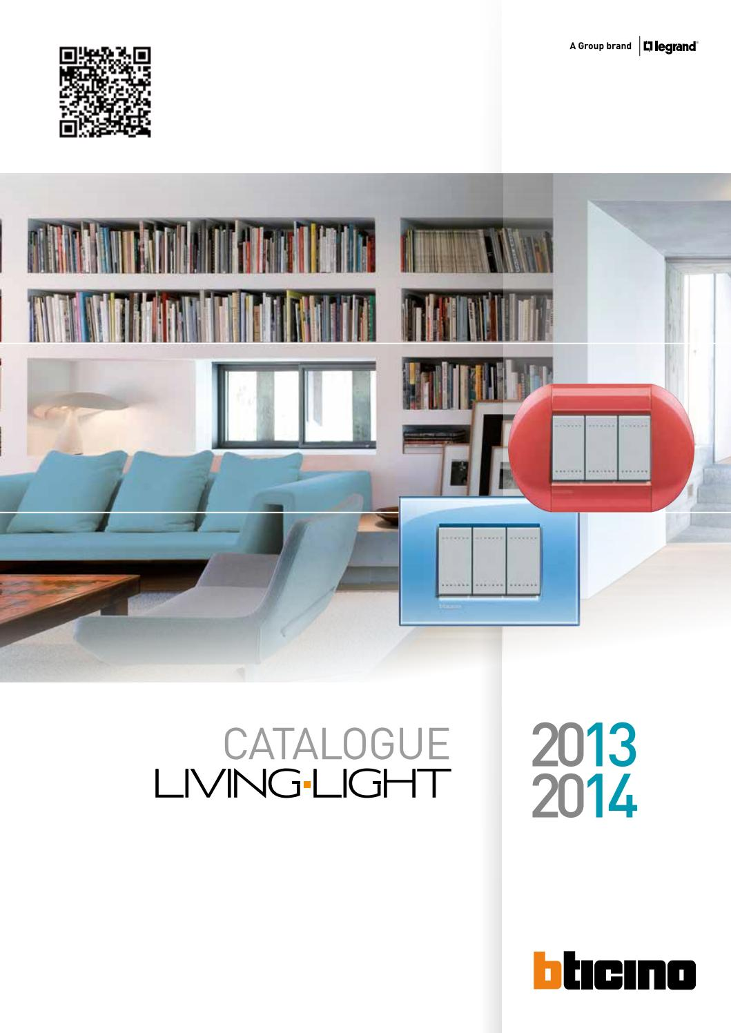 cat logo living light 2013 2014 by bticino issuu. Black Bedroom Furniture Sets. Home Design Ideas