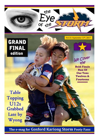 The Eye Of The Storm Magazine Vol 25 September 2017