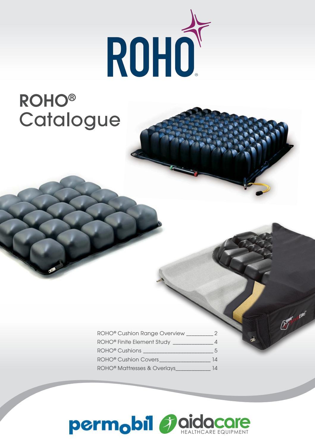 Roho Range Overview By Aidacare Issuu