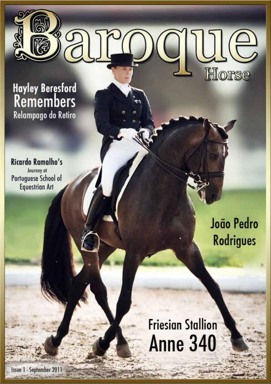 Baroque horse magazine ~ issue 2 by BH DRESSAGE - Issuu