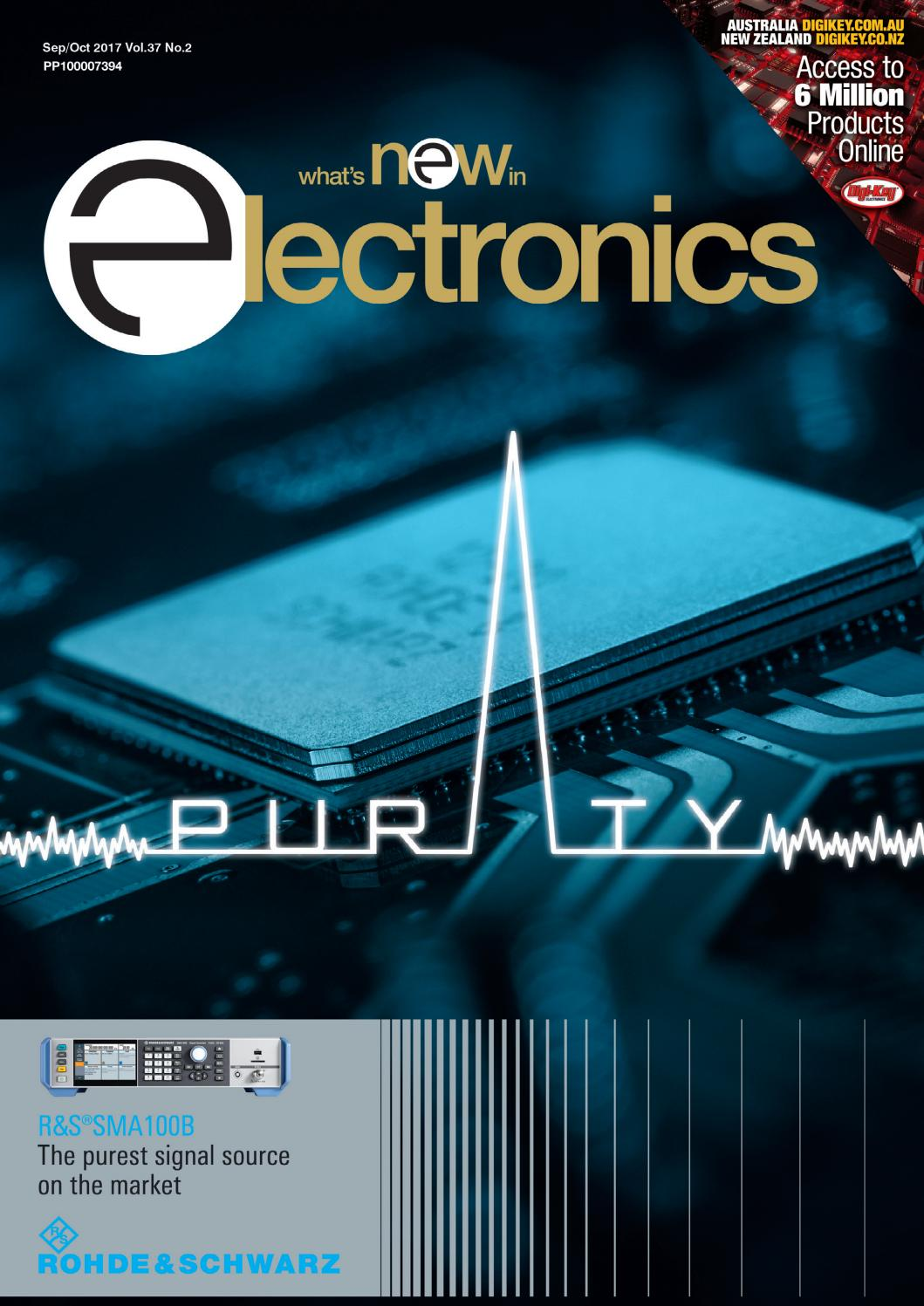 Whats New In Electronics Sep Oct 2017 By Westwick Farrow Media Issuu Electrical Schematic Digikey