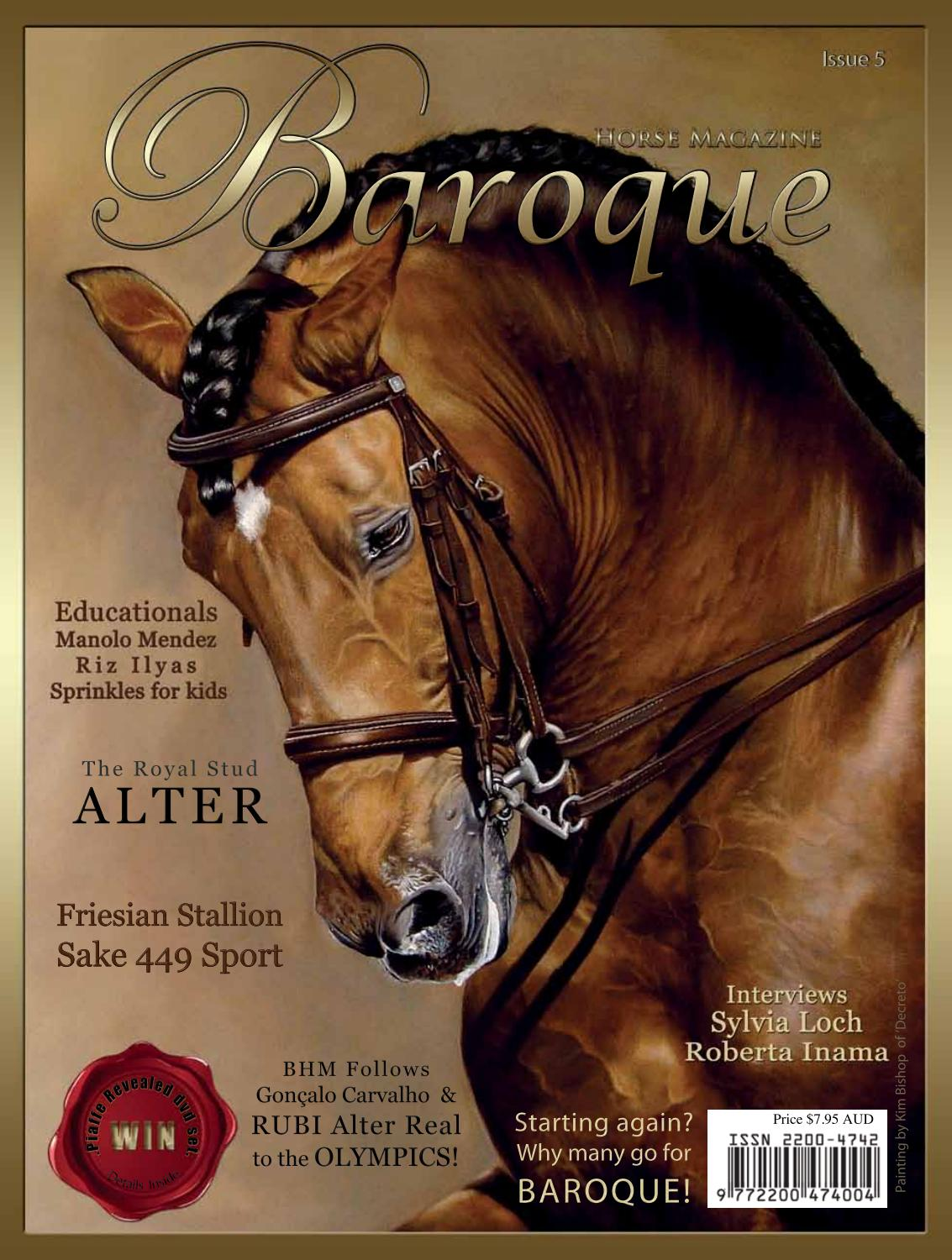 Baroque Horse Issue 05 By Baroque Horse Magazine Issuu