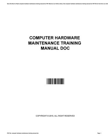 computer hardware maintenance training manual doc by rh issuu com computer hardware manufacturers co atlanta computer hardware manual for diploma