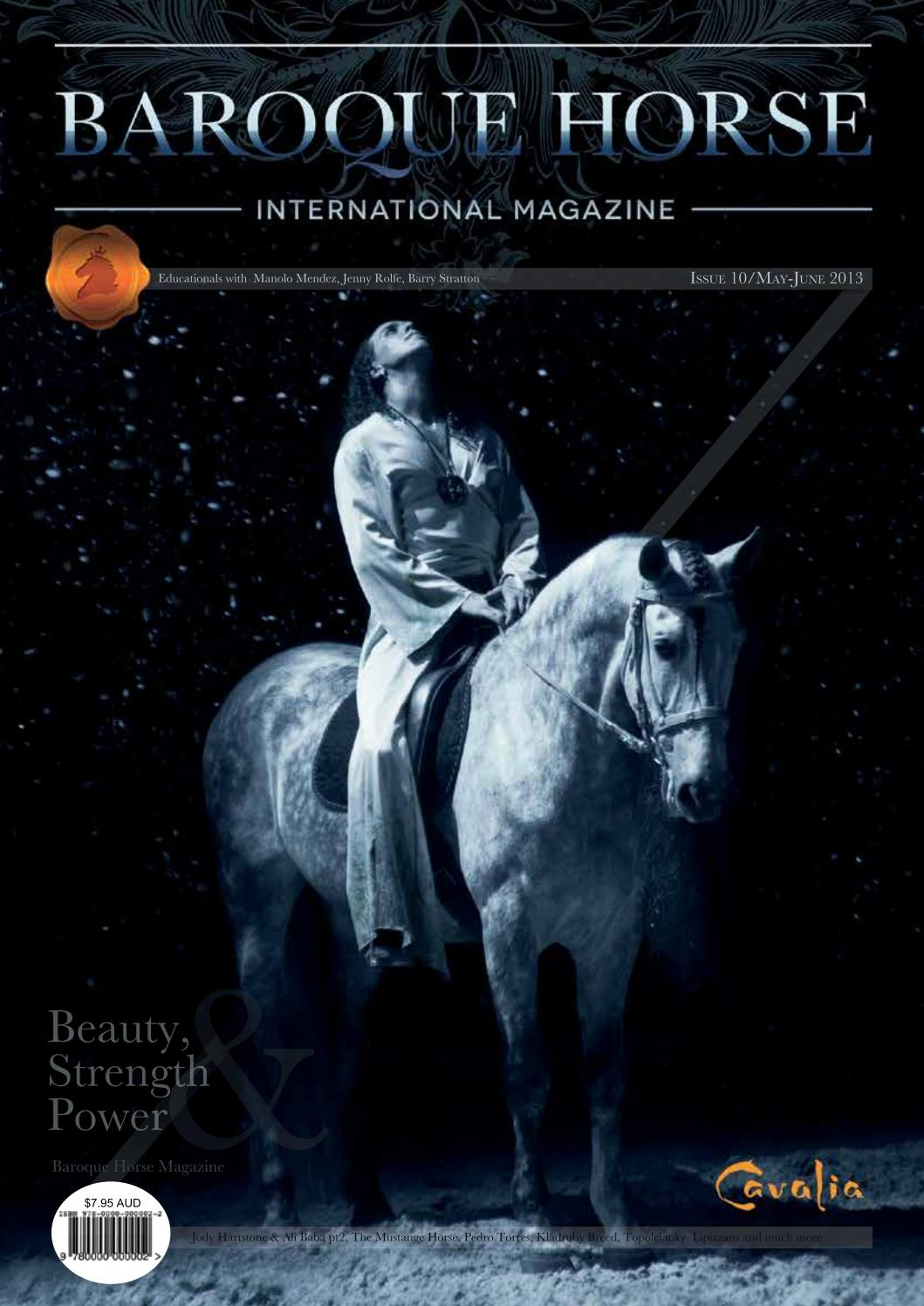 Baroque Horse ~ issue 18 by BH DRESSAGE - Issuu