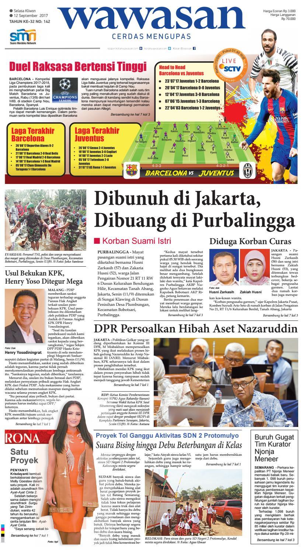 Wawasan 12 September 2017 By Koran Pagi Issuu Produk Ukm Bumn Kain Batik Eksklusif Lasem Manuk