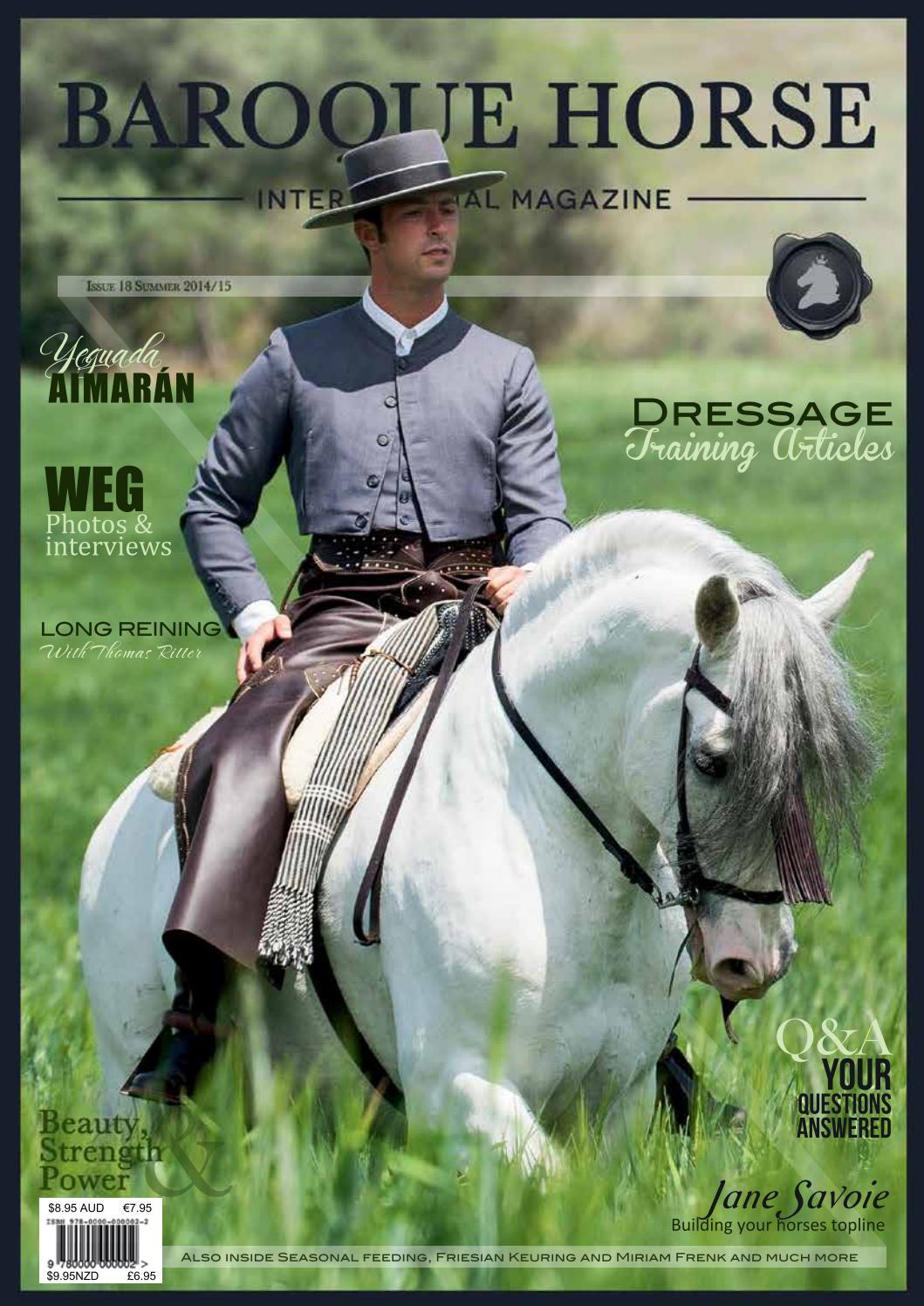 27 Baroque Horse International Magazine Covers ideas