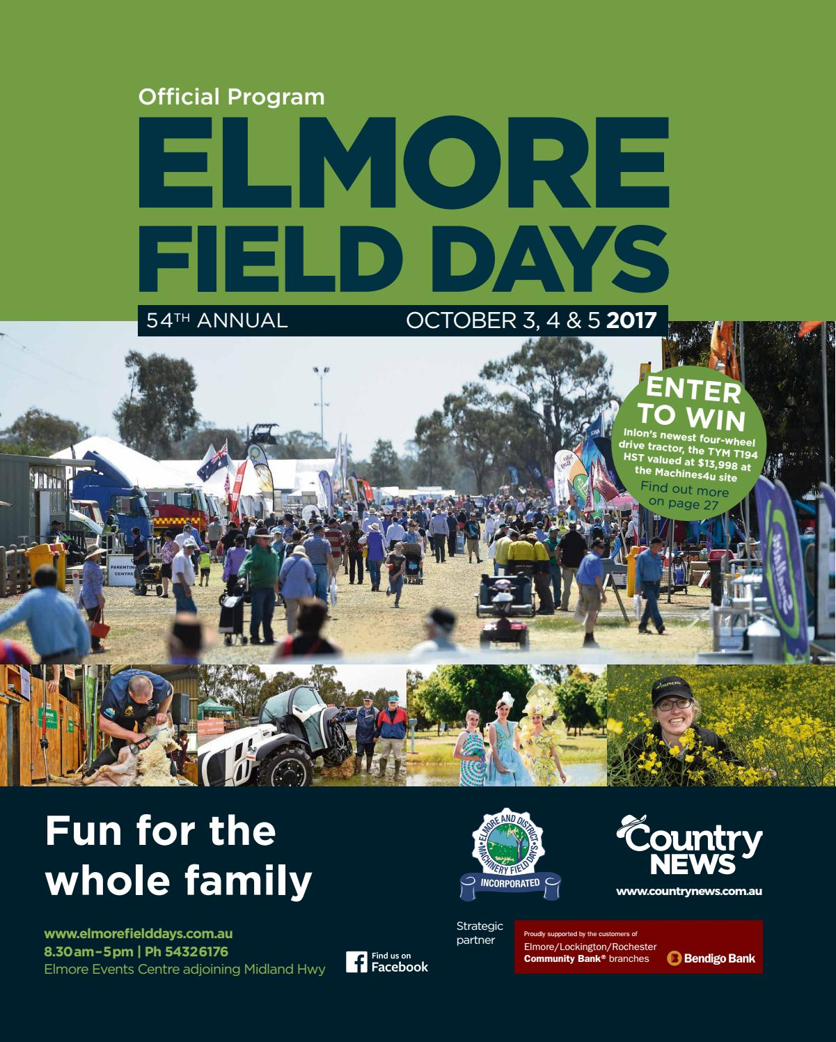 Elmore field days 2017 lowres by McPherson Media Group - issuu