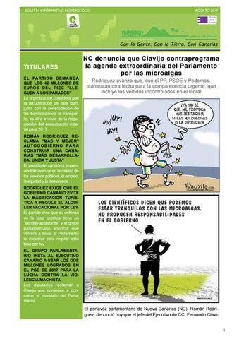 Boletín XXXI agosto 2017 by Nueva Canarias - issuu 3c2dd692121