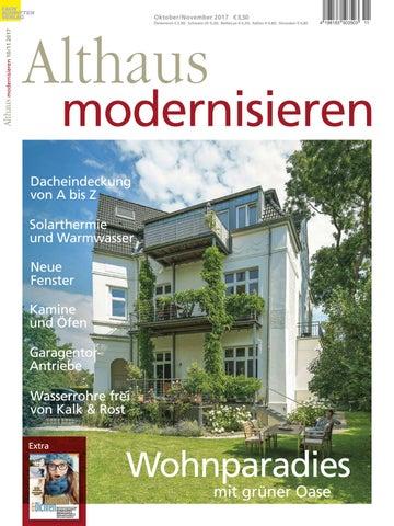 Althaus Modernisieren 10/11 2017 By Fachschriften Verlag   Issuu