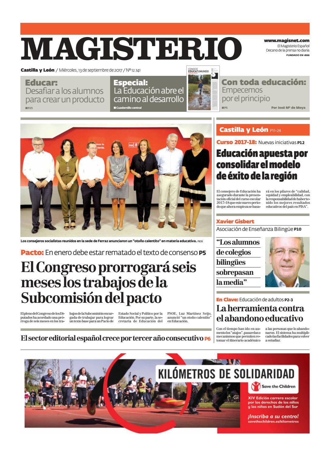Magisterio Nº 12141 Edición Castilla y León by Grupo Siena - issuu cd4e62a21da