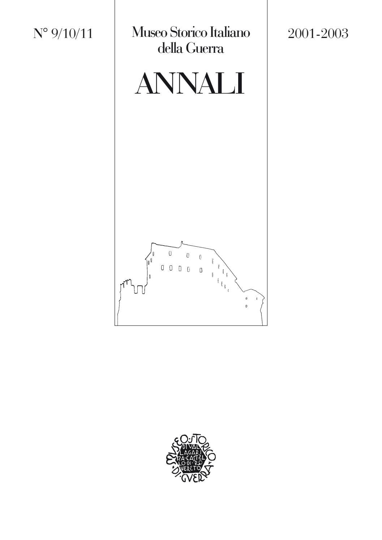 Annali 9 10 11 01 03 web by Museo storico italiano della Guerra - issuu 86e31db5567