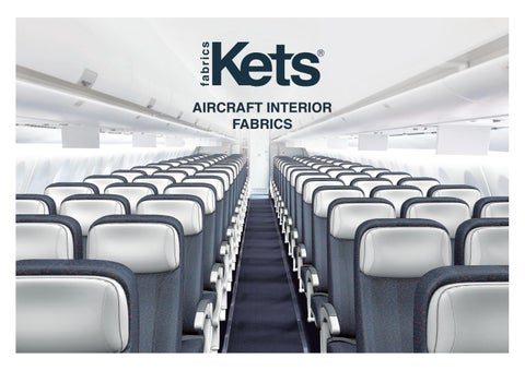 Kets Aircraft Interior Fabrics By Kets Official Issuu