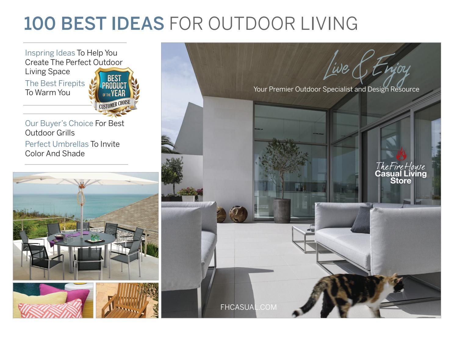 Fire House Casual Living Store 100 Best Ideas For Outdoor Living By Digital  Media And Publishing   Issuu