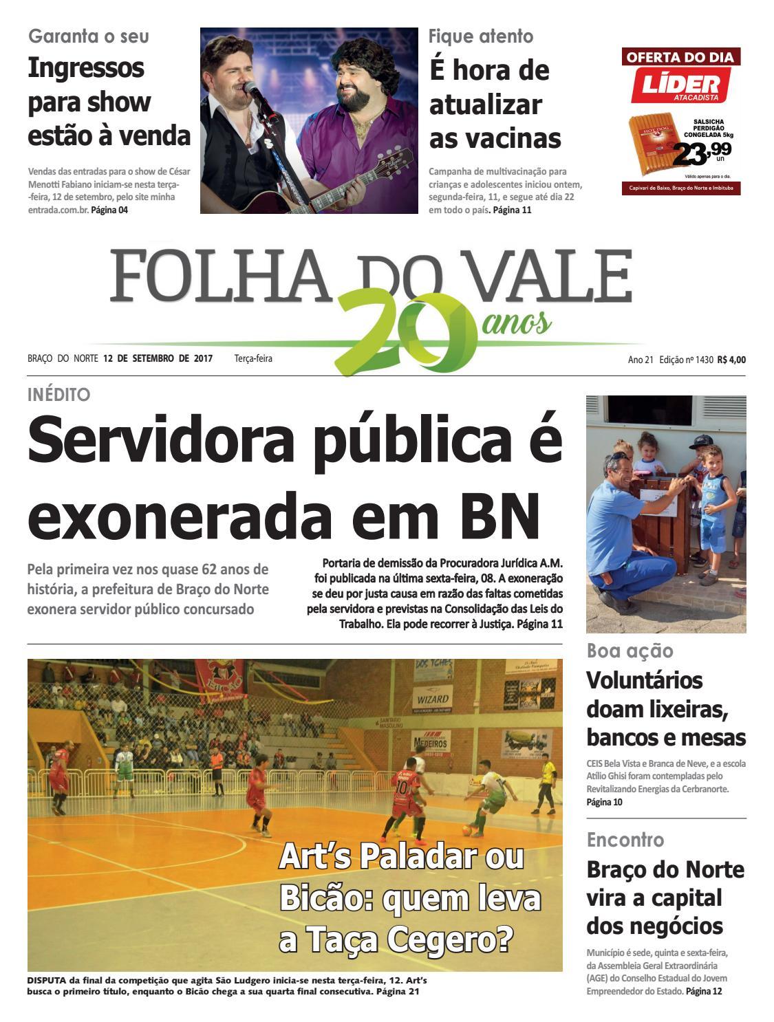 1430 by Folha do Vale - issuu 4fd93caa1cacc