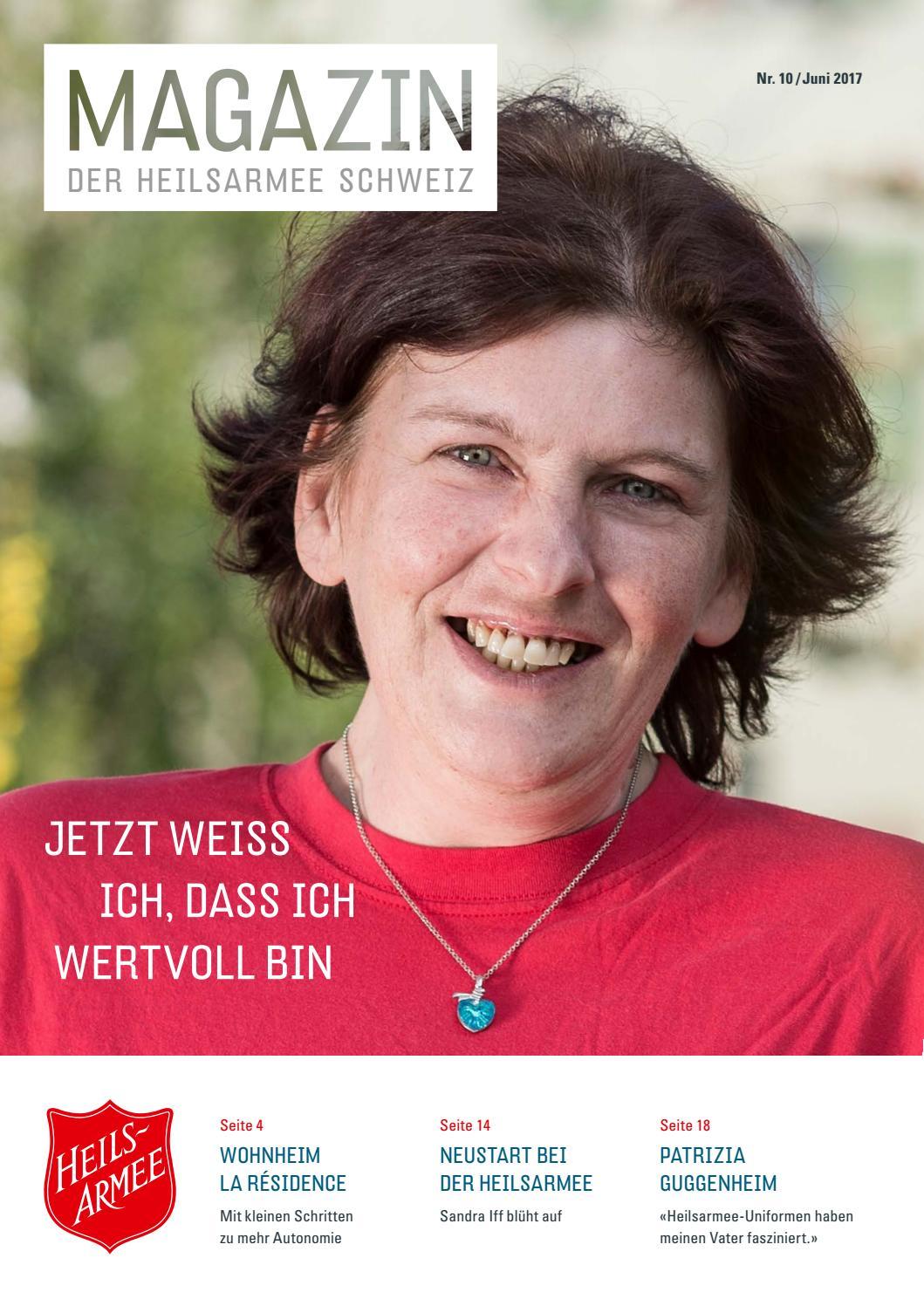 Magazin Nr. 10 / Juni 2017 by Heilsarmee, Armée du Salut - issuu