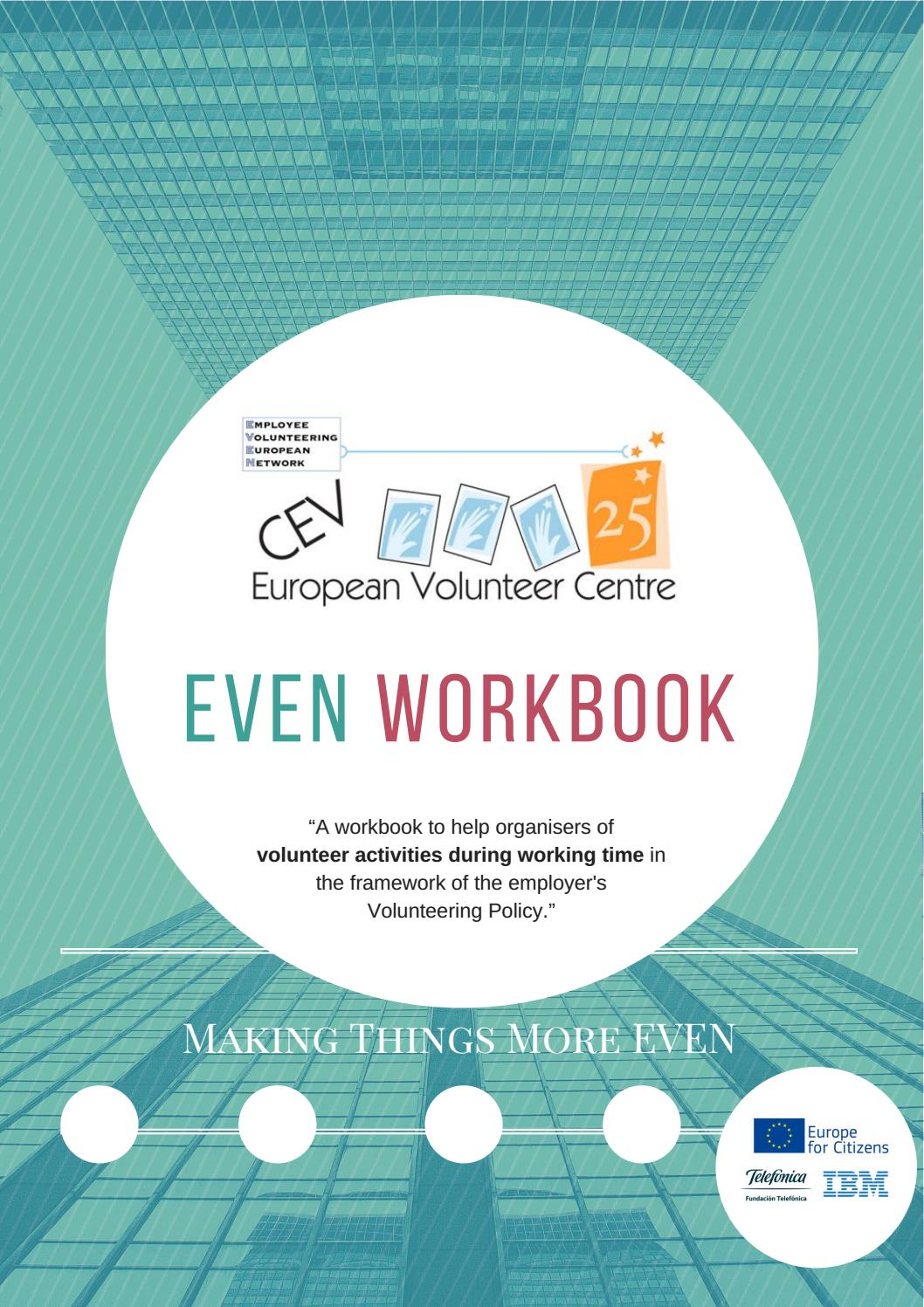 CEV EVEN Workbook: Volunteering Activities during Working Time by ...