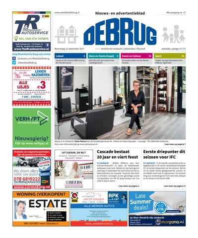 Kleurplaten Topmodelen.Weekblad De Brug Week 37 2017 Editie Hendrik Ido Ambacht By