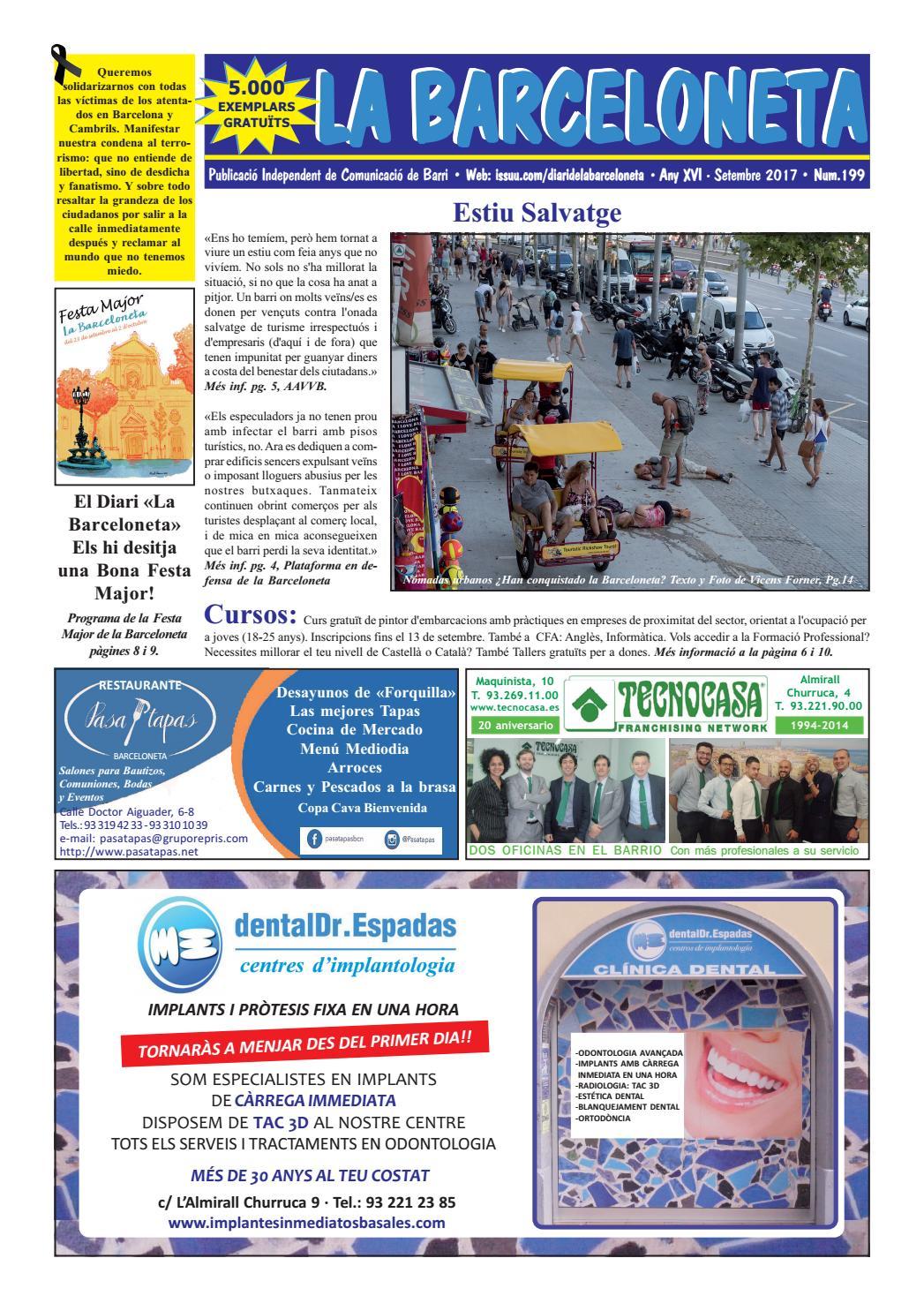 Diari De La Barceloneta Setembre 2017 By Diari Barceloneta