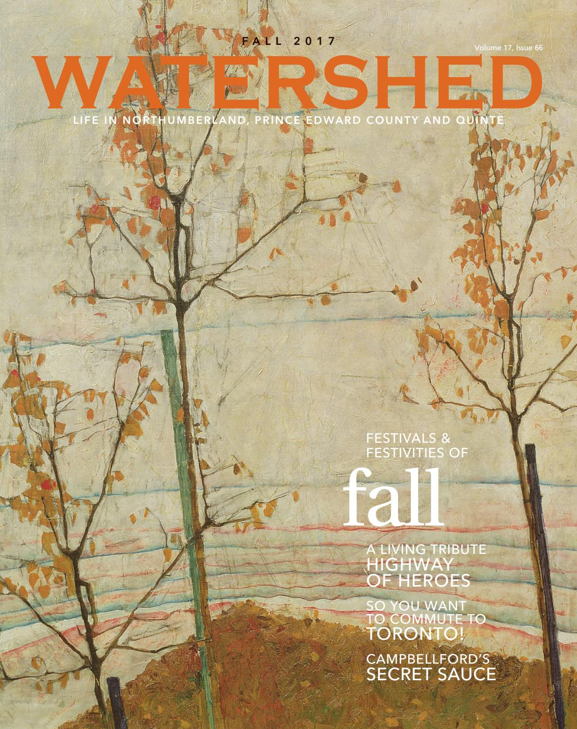 b23a8fdda23 Watershed magazine Fall 2017 by Watershed Magazine - issuu