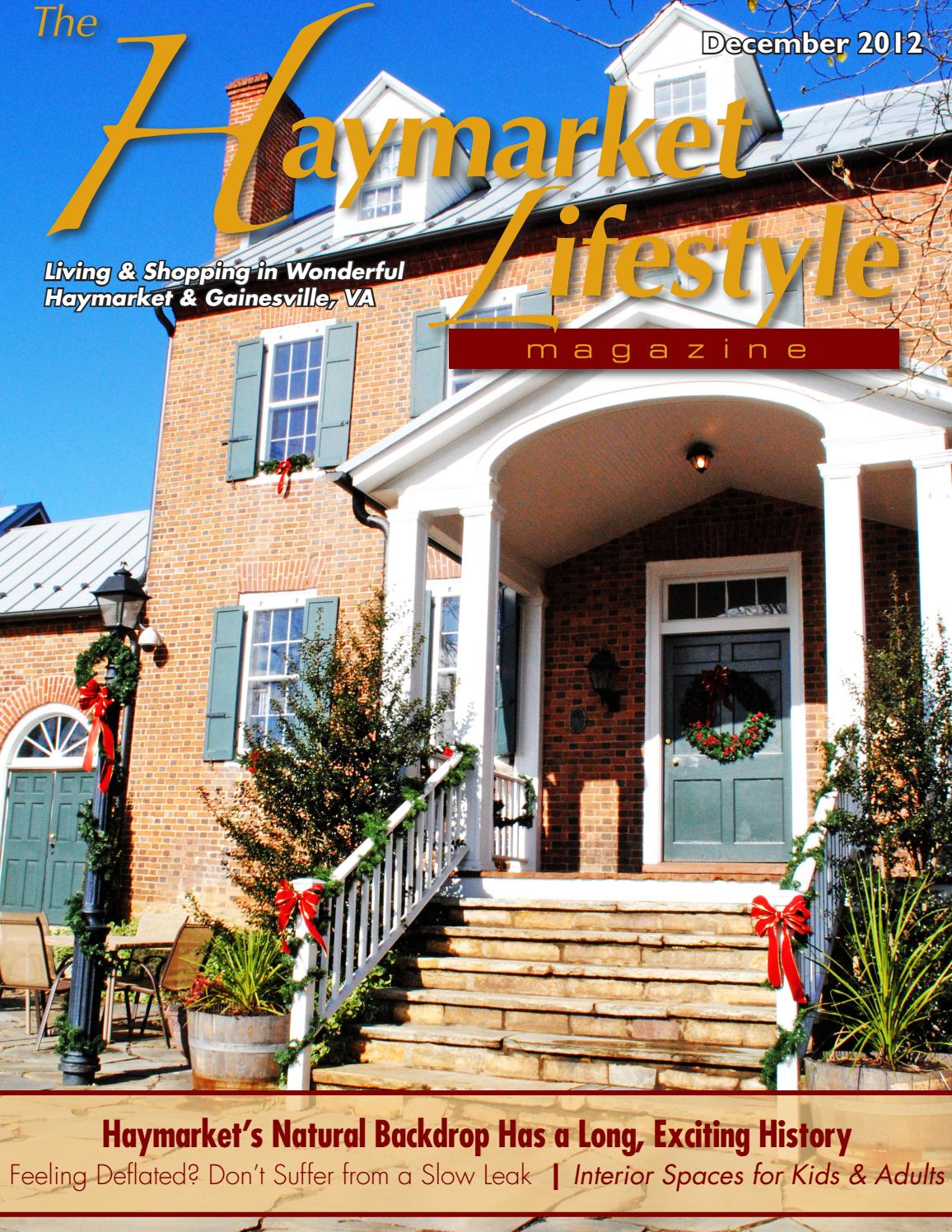 Haymarket lifestyle magazine december 2012