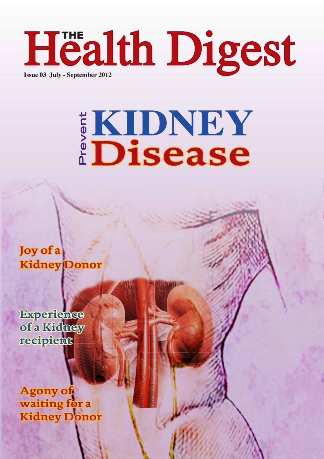 PREVENT KIDNEY DISEASE by Health Digest - issuu