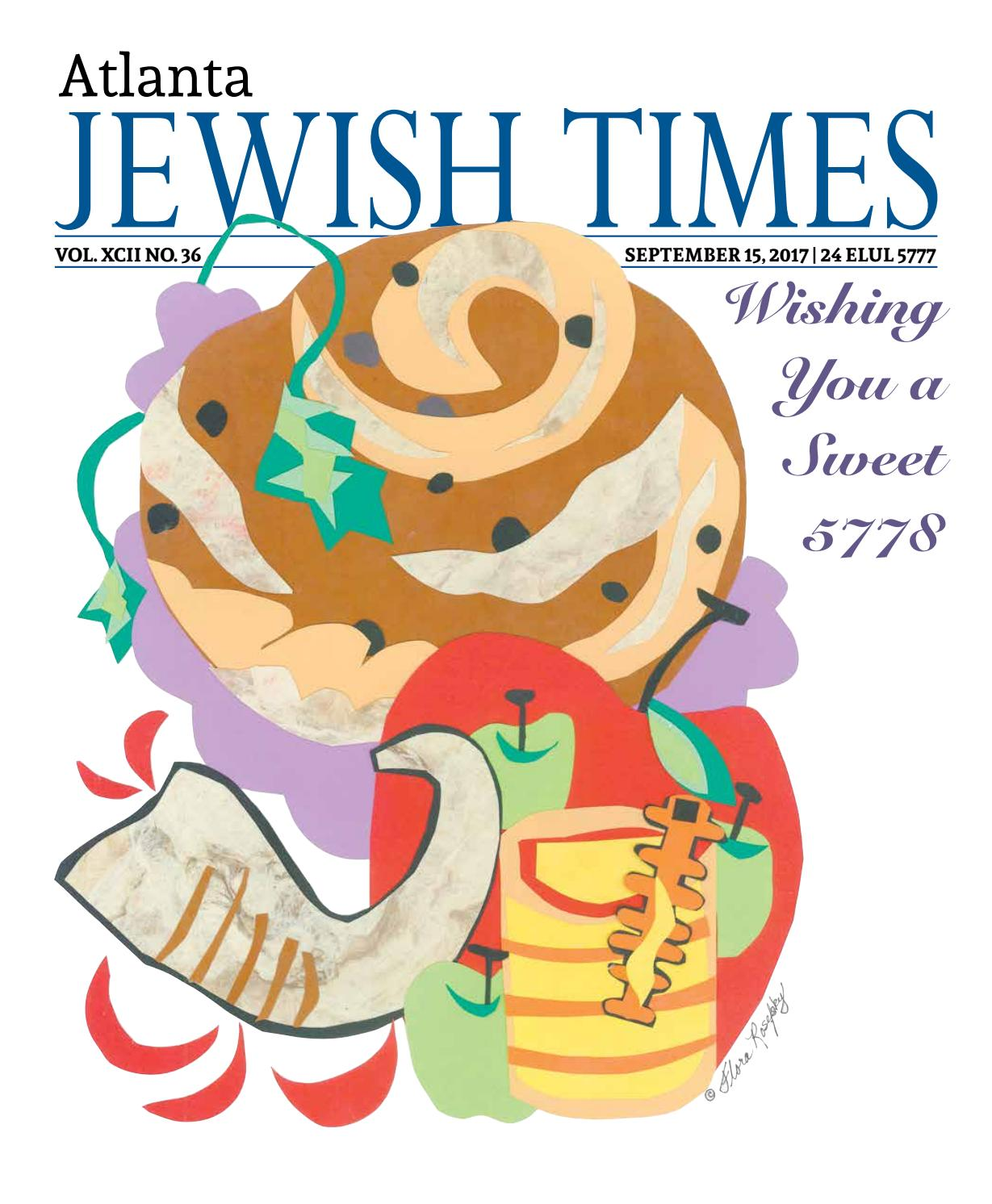 Atlanta Jewish Times, Vol. XCI No. 39, October 7, 2016 by Atlanta ...