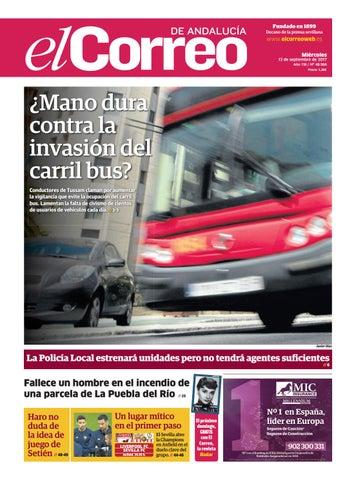 bc055e55b02c 13.09.2017 El Correo de Andalucía by EL CORREO DE ANDALUCÍA S.L. - issuu