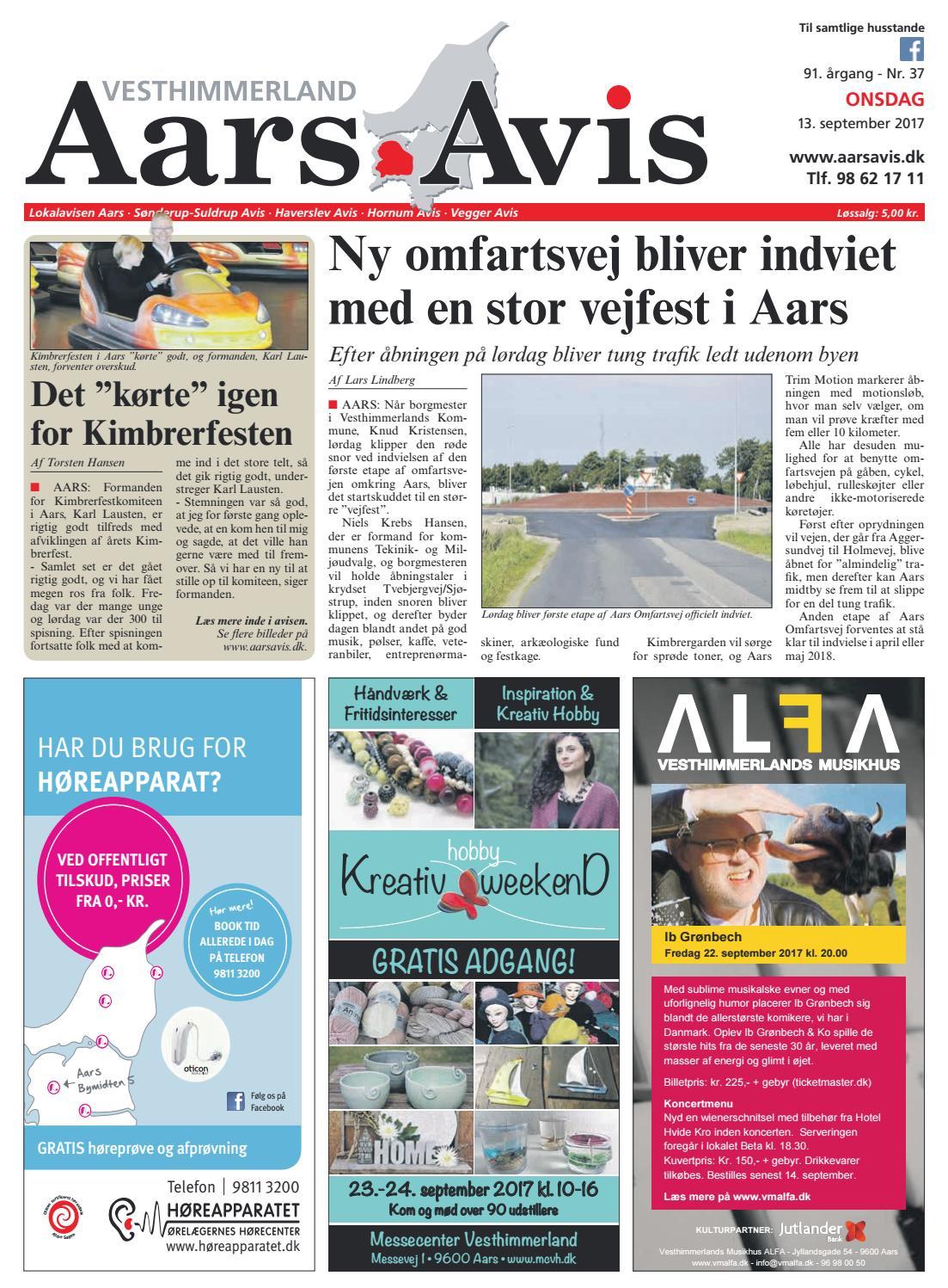 Aars Avis nr. 37 - 2017 by Aars Avis - issuu 23334161f554b