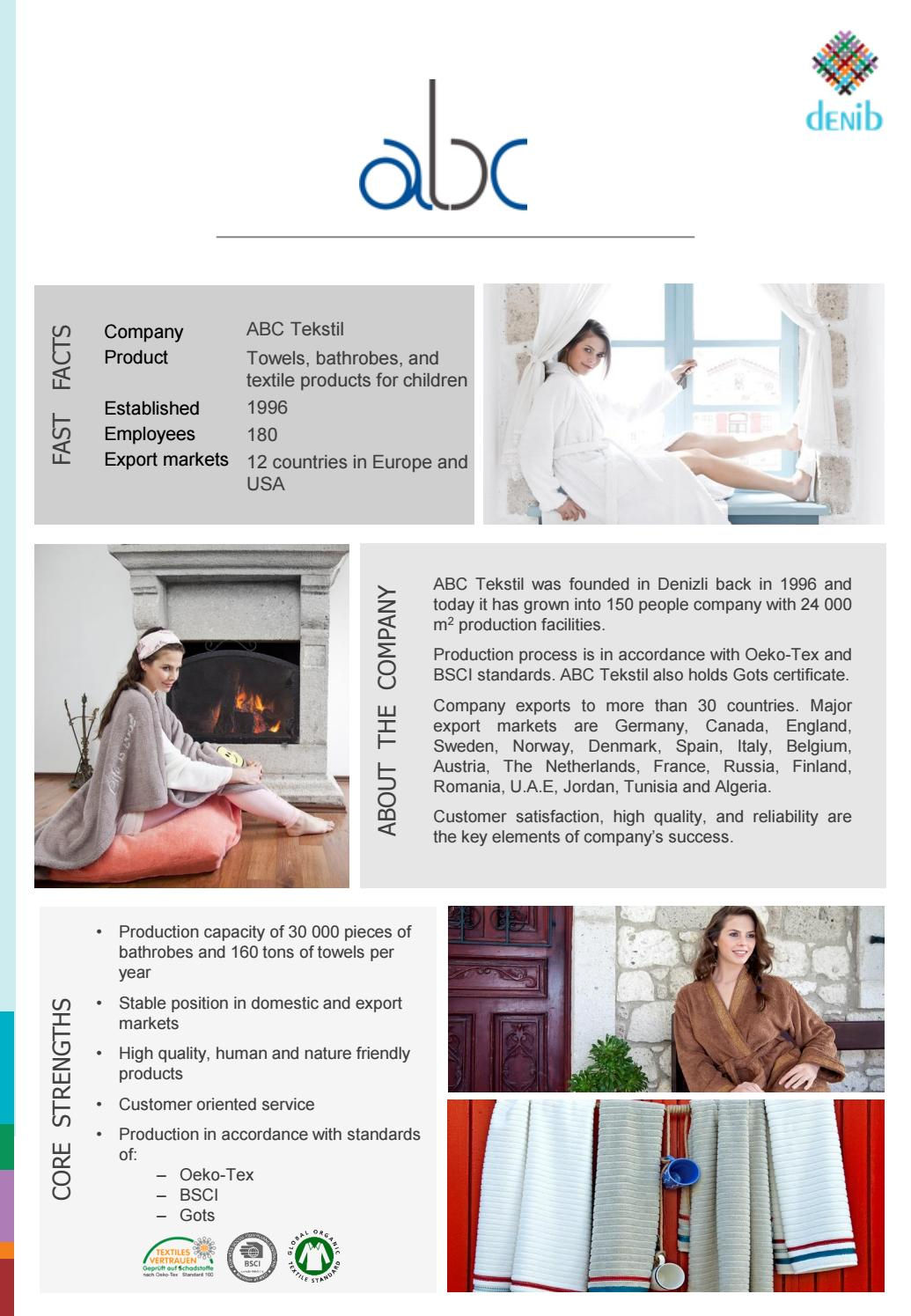 Turkish Home Textile Producers