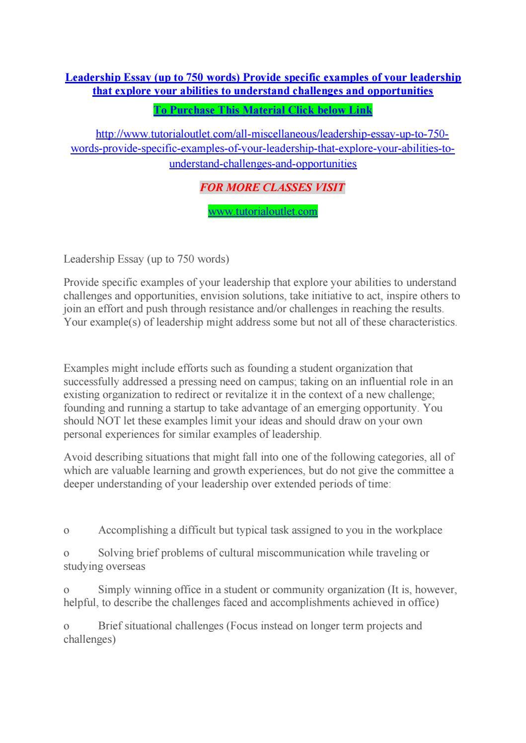 Essay describing leadership experience popular reflective essay writing service gb